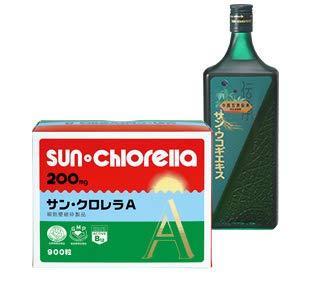 サンクロレラ サンクロレラA 1500粒 2箱 サンウコギ エキス 3本セット 2(約100日分)  B016615OHU