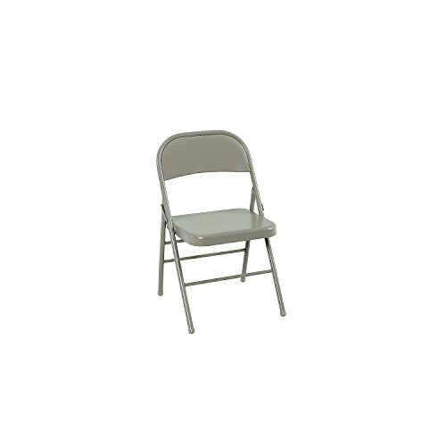 Cosco All Steel Folding Chair, Antique Linen (4 ct.)