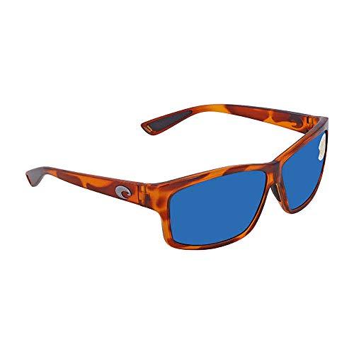 Costa Del Mar Cut 580P Cut, Honey Tortoise Frame Blue Mirror, Blue ()