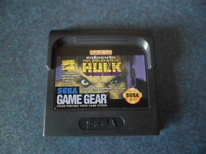 Incredible Hulk Sega Game Gear