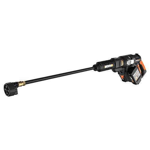 WORX WG644 40V Power Share Hydroshot Portable Power Cleaner (2x20V Batteries) (Battery Operated Power Washer As Seen On Tv)