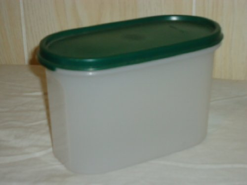 Tupperware Modular Mates Oval #2 w/Hunter Green Seal