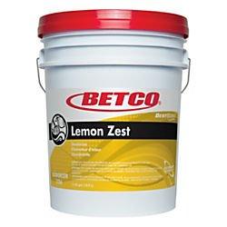 Betco(R) Best Scent Odor Eliminator Concentrate, Lemon Zest, 5 Gallons