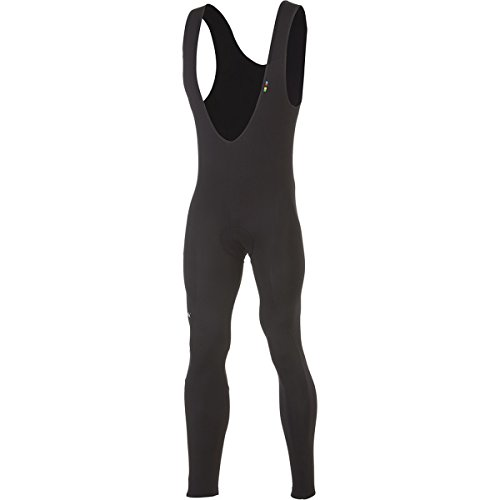 De Marchi Neopro Bib Tights Black, M - Men's by De Marchi