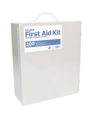 Grafco 100 Person First Aid Kit - 1096 Pieces