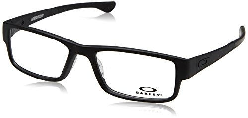 Oakley Men's Eyewear Frames OX8046 57mm Black - Womens Oakley Frames