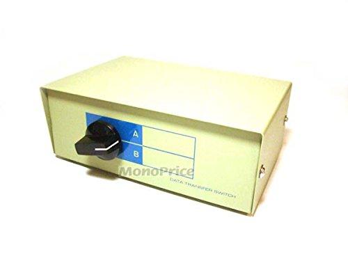 Monoprice 101344 2 Way DB9 Data Switch Box (Ab Switch Db9)