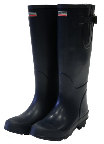 Town and Country UK size-12 die Bosworth Gummistiefel – Marineblau