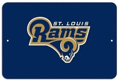 Rams Metal Louis - St. Louis Rams NFL 07 Metal 8x12 Poster imPrint