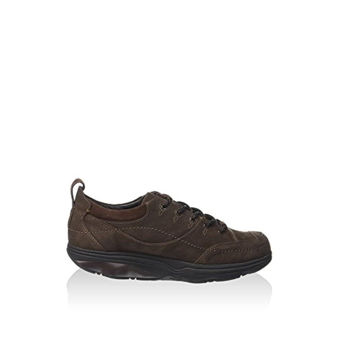 Mbt Pelle Marrone Donna Sneaker