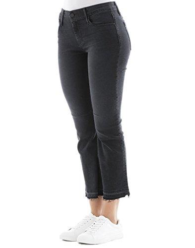 Wf7135180 Rta Jeans Nero Donna Cotone 077HqC