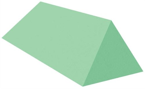Coated Wedge Patient Positioning Sponge, 45° Spinal Wedge, 27-3/4'' x 10'' x 7''