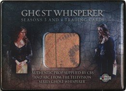 Ghost Whisperer Seasons 3 & 4 SDCC 2010 Metallogloss Map Prop Card Var. 1