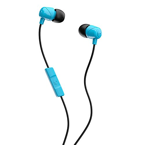 - Skullcandy Jib In-Ear Noise-Isolating Earbuds with Microphone and Remote for Hands-Free Calls, Lightweight, Stereo Sound and Enhanced Base, Wired 3.5mm Jack, Blue/Black