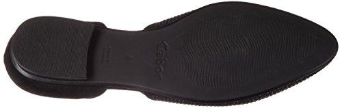 Mujer Gabor Shoes Schwarz para Bailarinas Fashion 17 Negro qwIPr8wnT