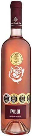 Limnos Organic Wines - Rodon - Moschato Alexandrias - Limnio - Bio Rose Semi-dry Rose Wine (750ml)