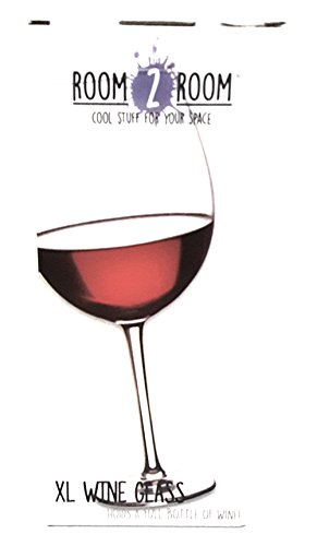 XL Extra Large Premium Jumbo Wine Glass - Holds a Whole Bottle of Wine! Giftable Wine Glasses Glass Woman's Women Gift (My Fair Lady Halloween Costume)