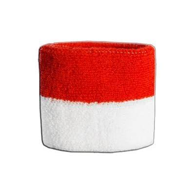 Digni® Poignet éponge avec drapeau Monaco, pack de 2 pièces