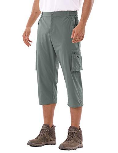 BALEAF Men's Hiking Cargo Shorts Quick Dry UPF