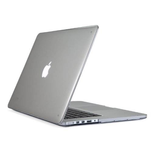 - Speck Products SeeThru Hard Shell Case for MacBook Pro with Retina Display 15-Inch, Clear