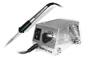 Bakú BK-938 estación de soldadura (plata) Mini boxeado: Amazon.es: Electrónica