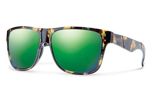Smith Lowdown XL Carbonic Sunglasses, Flecked Green Tortoise - Xl Lowdown Smith