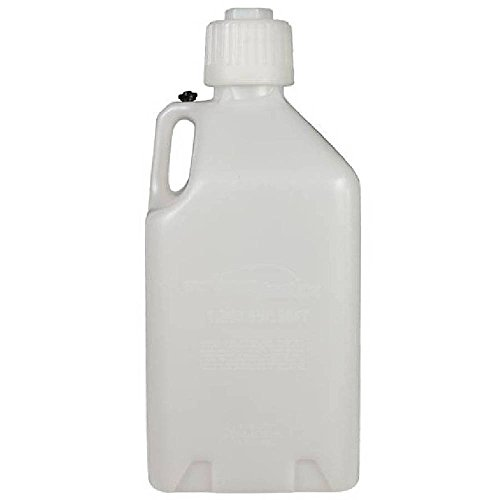 Scribner Plastics (2000-6PK White Utility Jug - 5 Gallon Capacity, (Pack of 6)