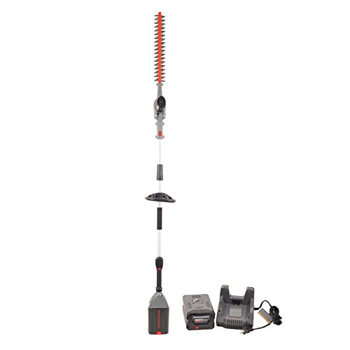 Powerworks 60V 20'' Pole Hedge Trimmer, 2Ah Battery and Charger Included PHT60B210PW by Works Power