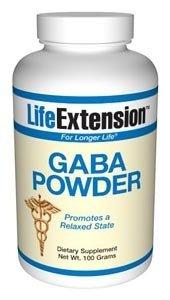 Prolongation de la vie, le GABA 100 grammes de poudre