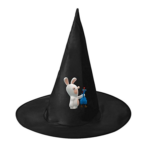 Costumes Men Group Halloween X (Halloween hat Rabbids Invasion Buddy Black Deluxe Witch Costume Party Hat for)
