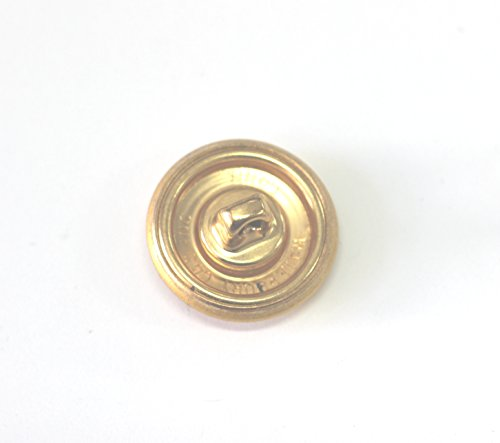 Vintage military dress uniform buttons (Plain shank back) made in New England