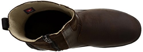 laterali Mid Boot zip Wp Timberland Dark con Ins Brown inverno Chillberg fUwxEqB