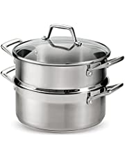 Tramontina Steamer Set Stainless Steel Induction-Ready 5 Quart, 80120/523DS