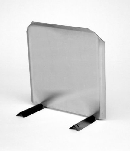 Stainless Radiant Fireback - 20'' H x 20'' W by Lindemann