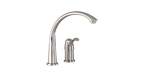 Gerber 40 160 Ss Allerton Single Handle Kitchen Faucet Stainless Steel Touch On Kitchen Sink Faucets Amazon Com