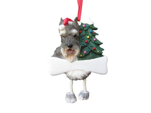 (Schnauzer Ornament with Unique