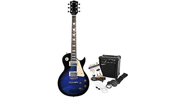 Rockburn Electric Guitar Amp Pack - Azul.: Amazon.es: Juguetes y ...