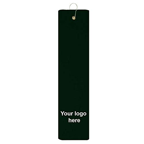 Caden Concepts Platinum Collection Golf Towel Tri-Fold Grommet - Burgundy - 48 Quantity - $5.88 Each - Promotional Product/Bulk/with Your Customized Branding