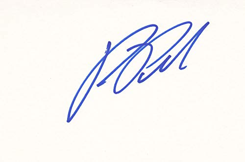 Ron Perlman Autographed Index Card from Sign Here Autographs