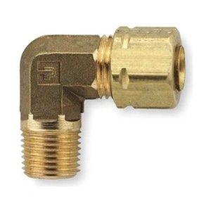 Pack of 5 Brass 3//4 Compression x MNPT Parker 169CA-12-12-pk5 Elbow 3//4 Compression x MNPT 90 Degree Pack of 5