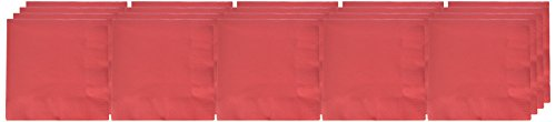 Amscan 52015.40 3-Ply Dinner Napkins Party Supplies,