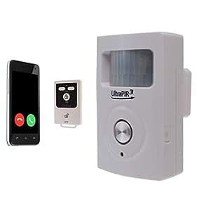 Alarma UltraPIR con 3G y contacto por teléfono móvil: Amazon ...