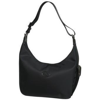 48b5b9b9b9 Longchamp Planetes Side Pocket Hobo Bag, Black: Amazon.ca: Clothing ...