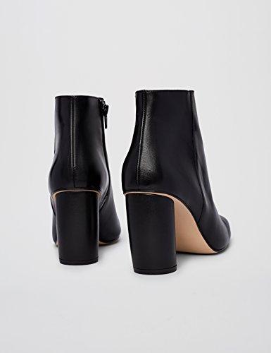 Finde Damer Ankelstøvler Med Blok Hæl Sort (sort) yNdM1s
