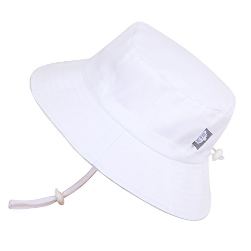 baby-sun-hat-with-chin-strap-adjustable-head-size-50-upf-cotton-bucket-s-0-6m-white-
