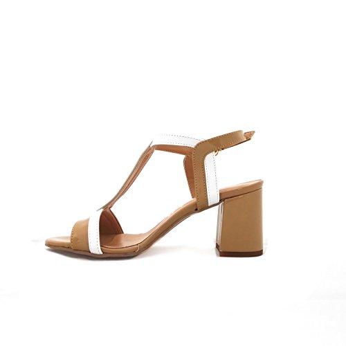 Mercante di Fiori 1147 - Sandalias de vestir de Material Sintético para mujer beige beige