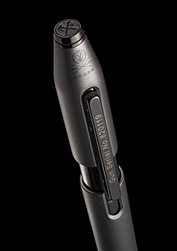 Cross X Liberty United Collector's Edition, Gunmetal Gray Rollerball Pen with Polished Black Appointments (AT0725-9) by Cross (Image #5)