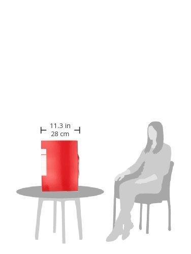 35 x 25 x 10 cm Brefiocart 020E7008R cartella portaprogetti colore Rosso