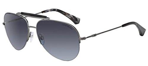 Emporio Armani Sunglasses Model (Emporio Armani Mens Sunglasses (EA2020) Gunmetal Matte/Grey Metal - Non-Polarized -)