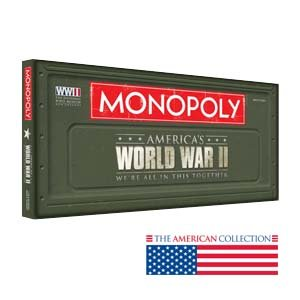 Monopoly World War II - We Are All In This Together by Hasbro